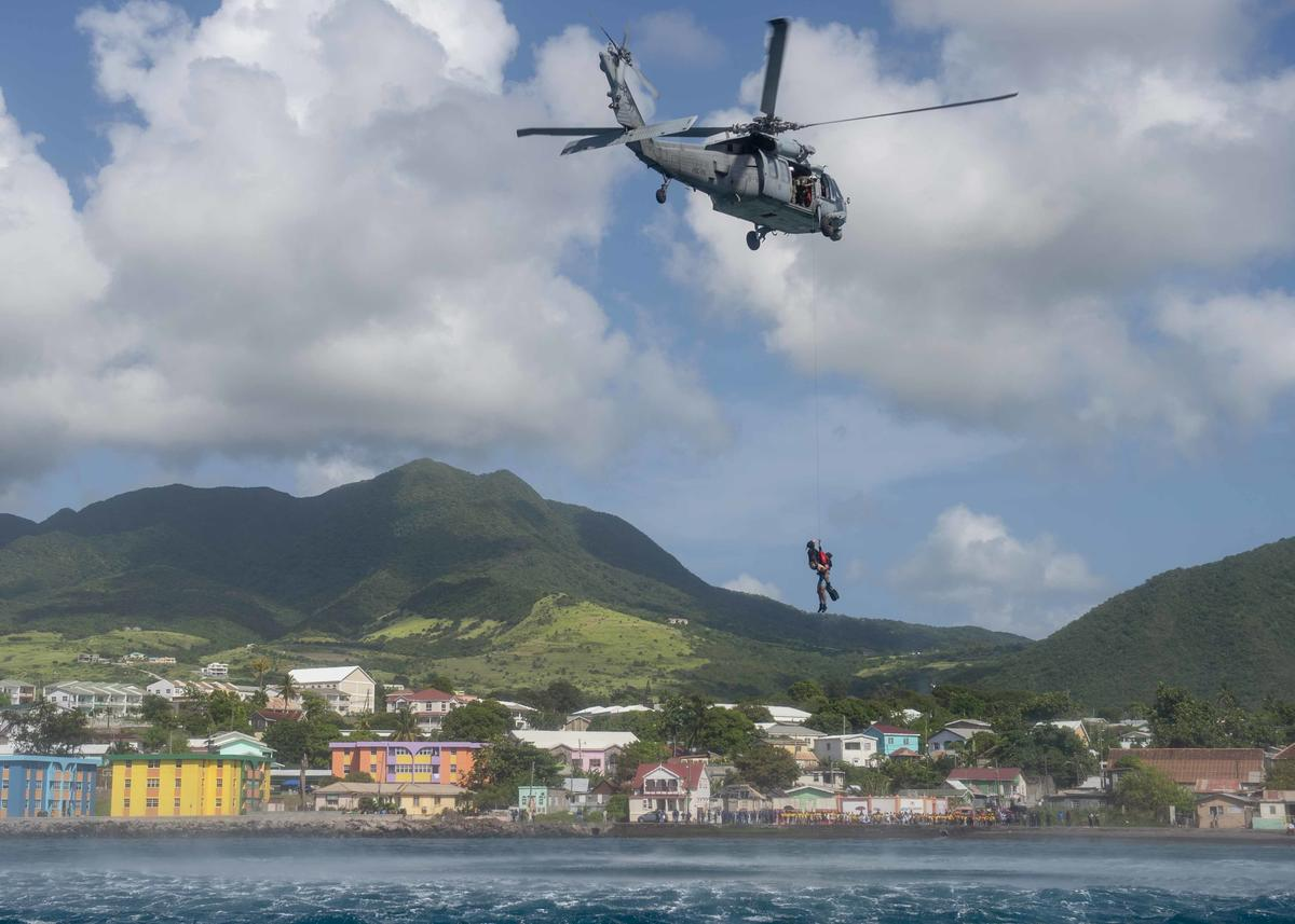 gallery mass casualty drill and sar exercise for usns