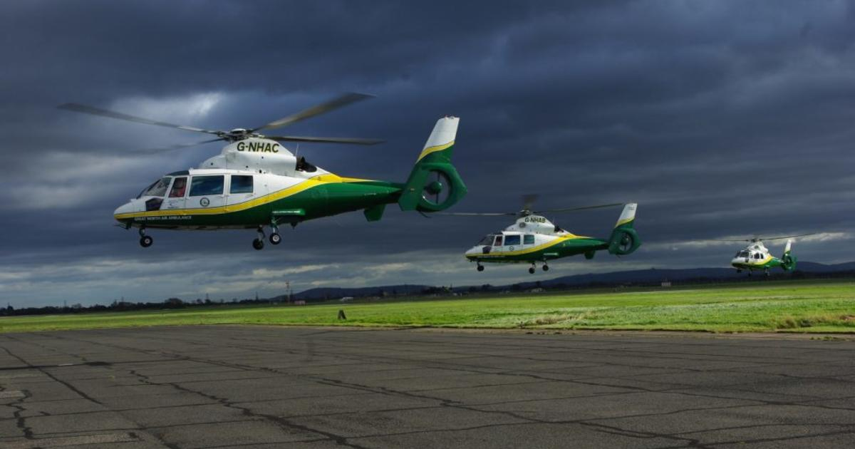 Great North Air Ambulance invests in new Dauphin - AirMed and Rescue Magazine